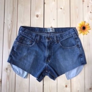 Levi's High Waisted Jean Shorts